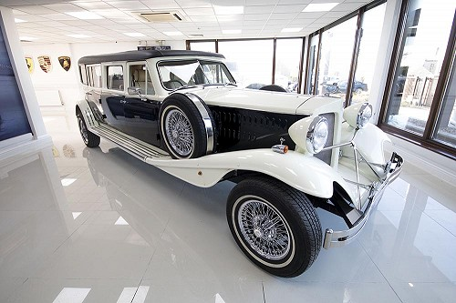 Beauford Limousine from front