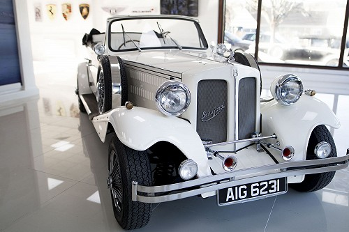 Beauford Open Tourer from front