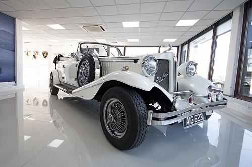 Beauford Open Tourer from front/side