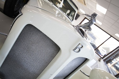 Beauford Limousine front grill closeup
