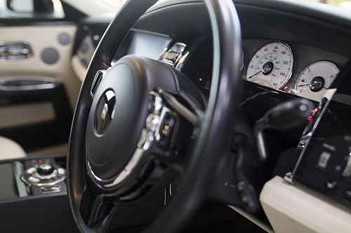 Rolls Royce Ghost dash