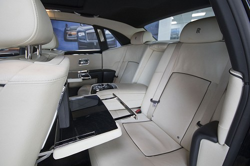 Rolls Royce Ghost back seats 2