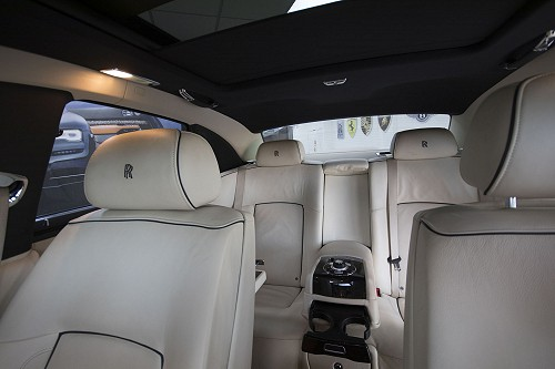 Rolls Royce Ghost inside front to back