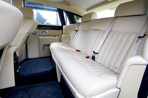 Rolls Royce Phantom - back seats