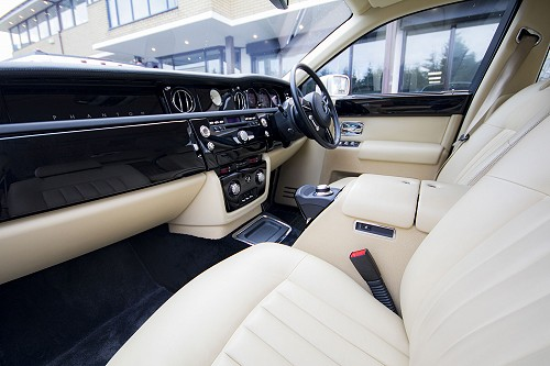 Rolls Royce Phantom - Front Seats