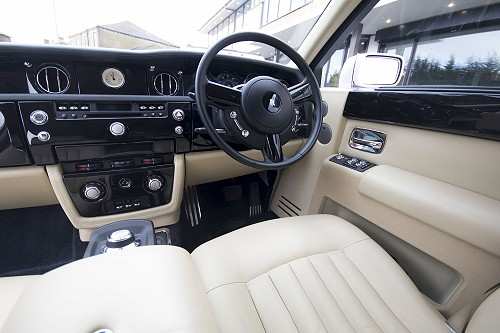 Rolls Royce Phantom inside front