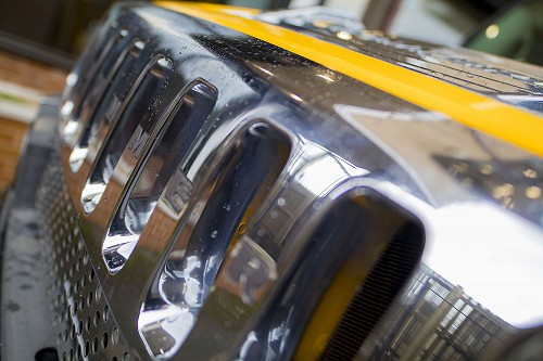 Hummer H2 front grill