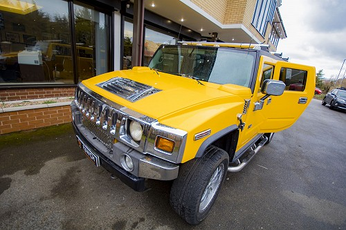 Hummer H2 for hire in West Yorkshire