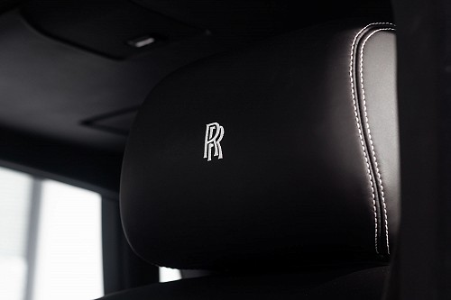 Rolls Royce Phantom Sliver - Headrest
