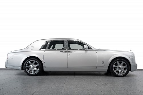 Rolls Royce Phantom Sliver - Side